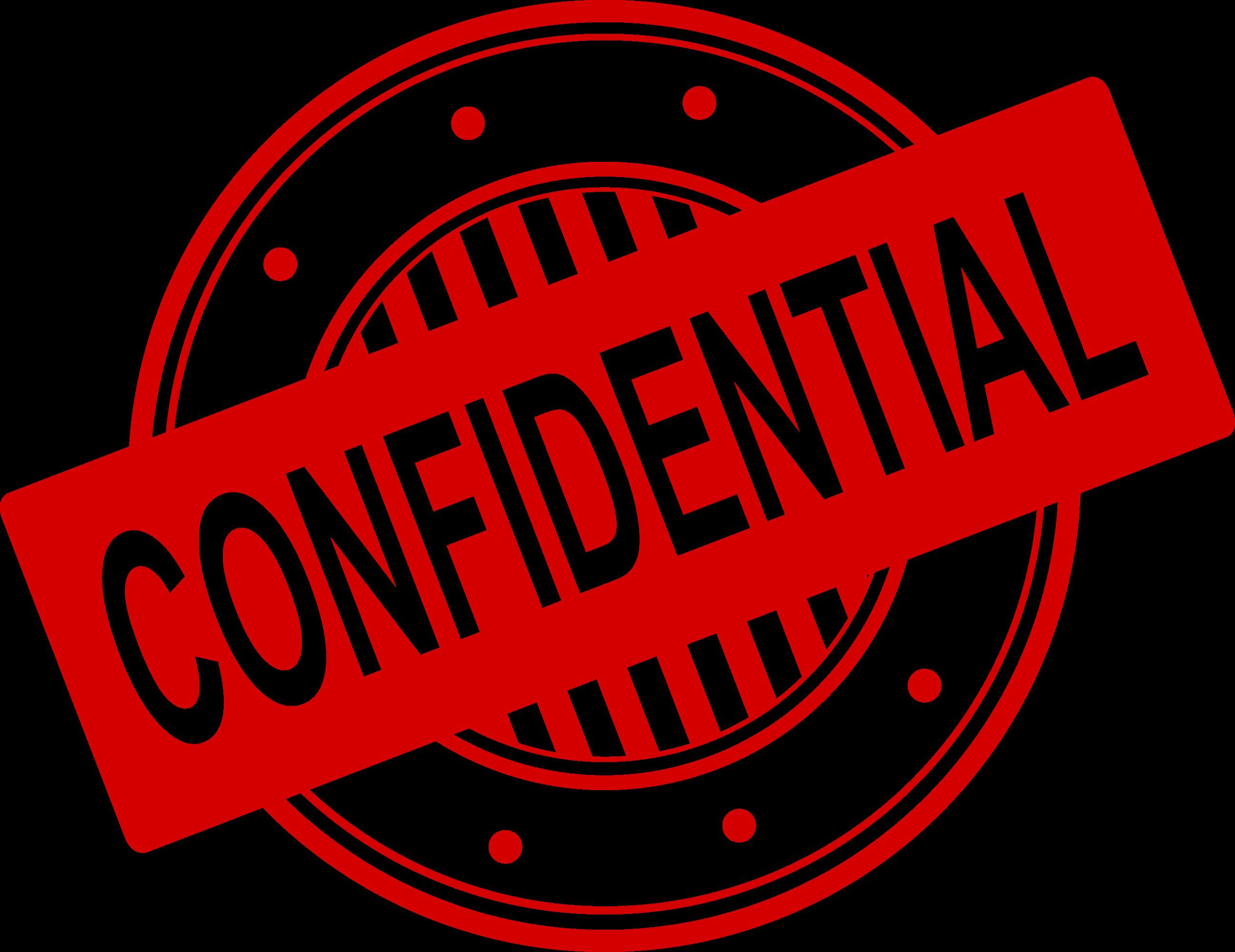 clipart stamp transparent confidential #103726901