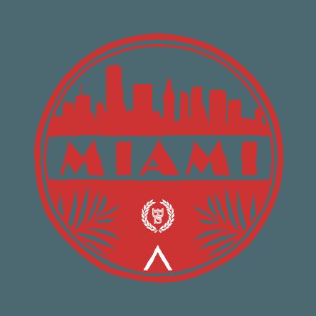 vector royalty free stock Miami bartending