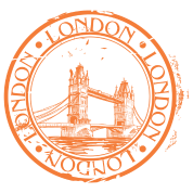 clip art library download London travel stamp by