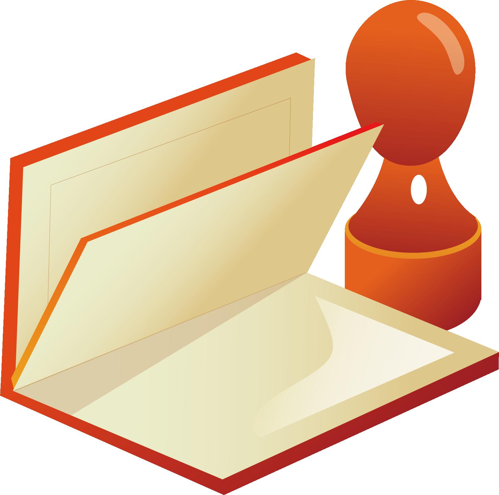 vector royalty free stock Paper adobe icon books. Vector stamp illustrator