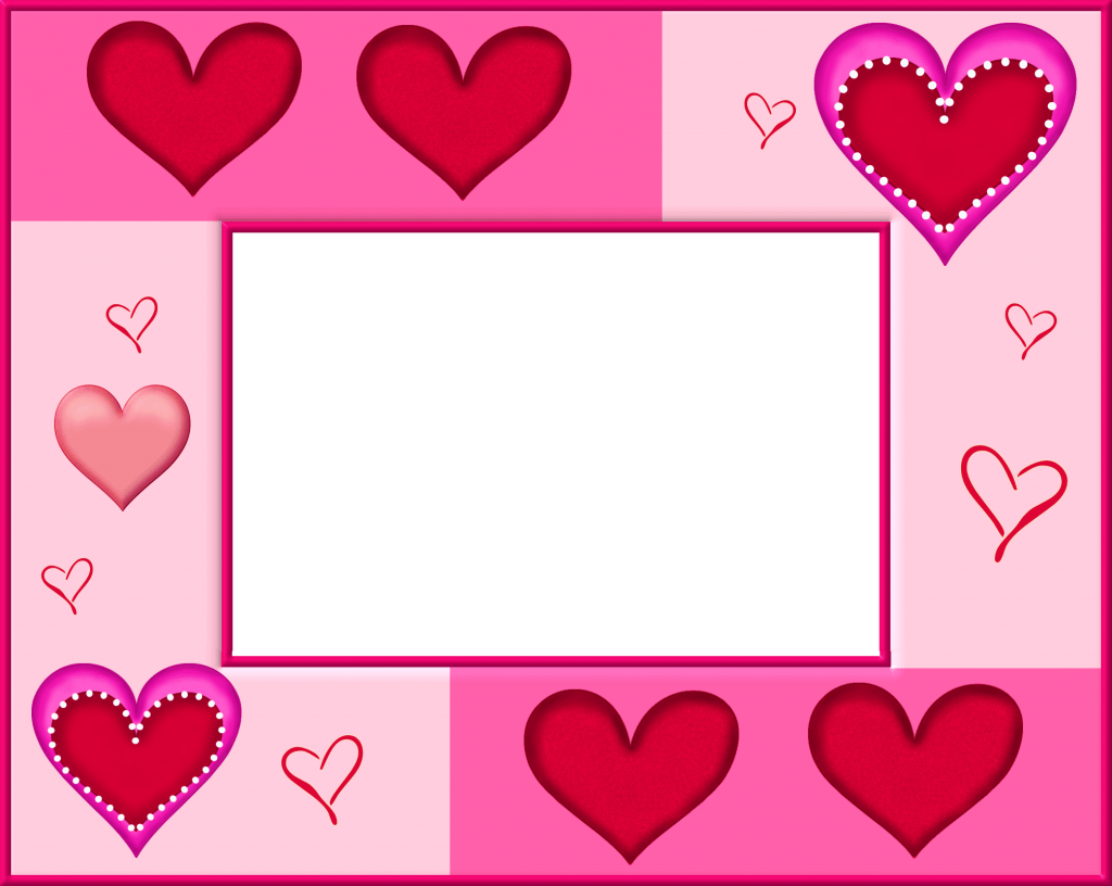 banner royalty free stock Valentine vector frame. Valentines day heart png