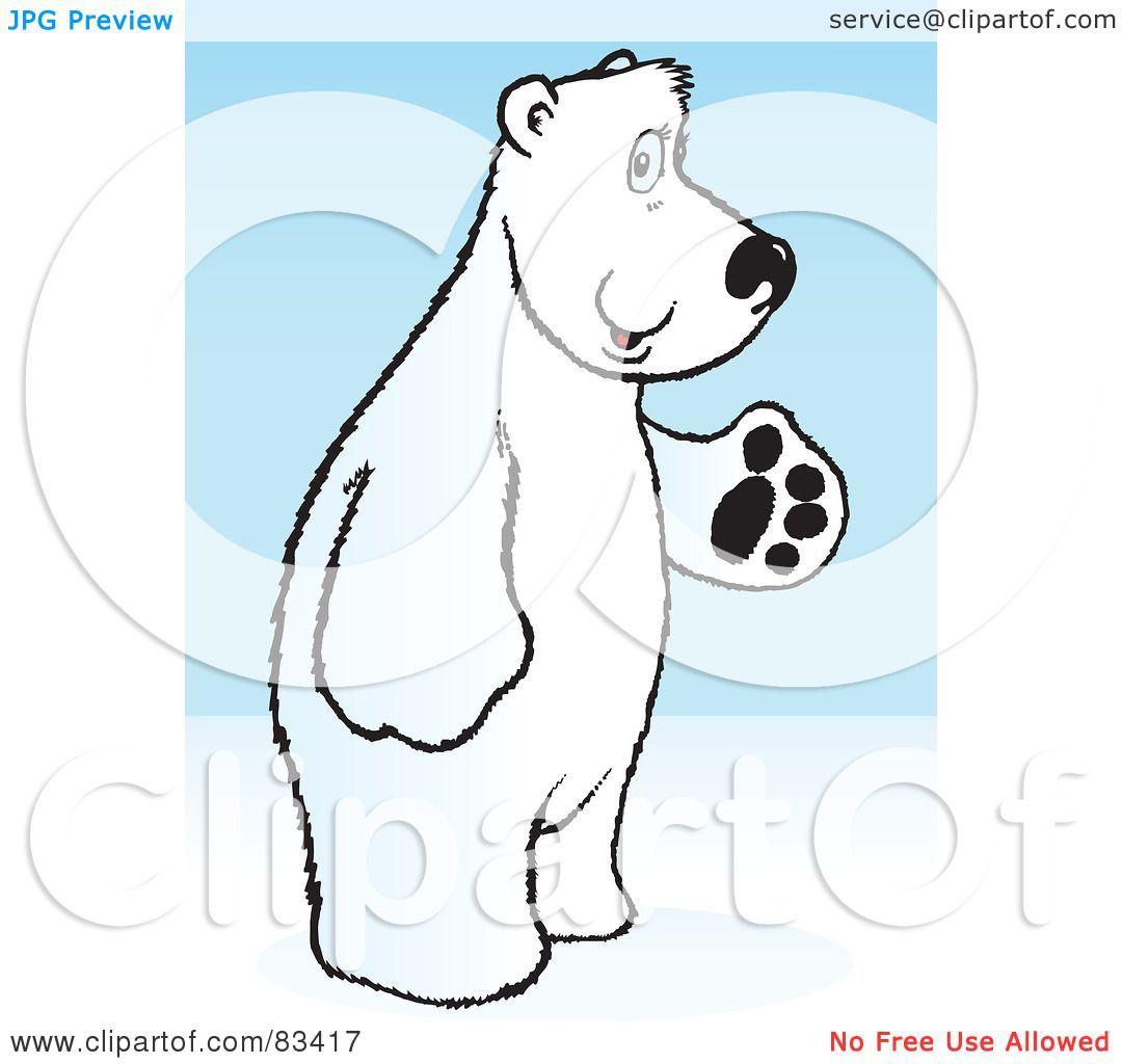 image transparent library Standing polar bear clipart. Portal