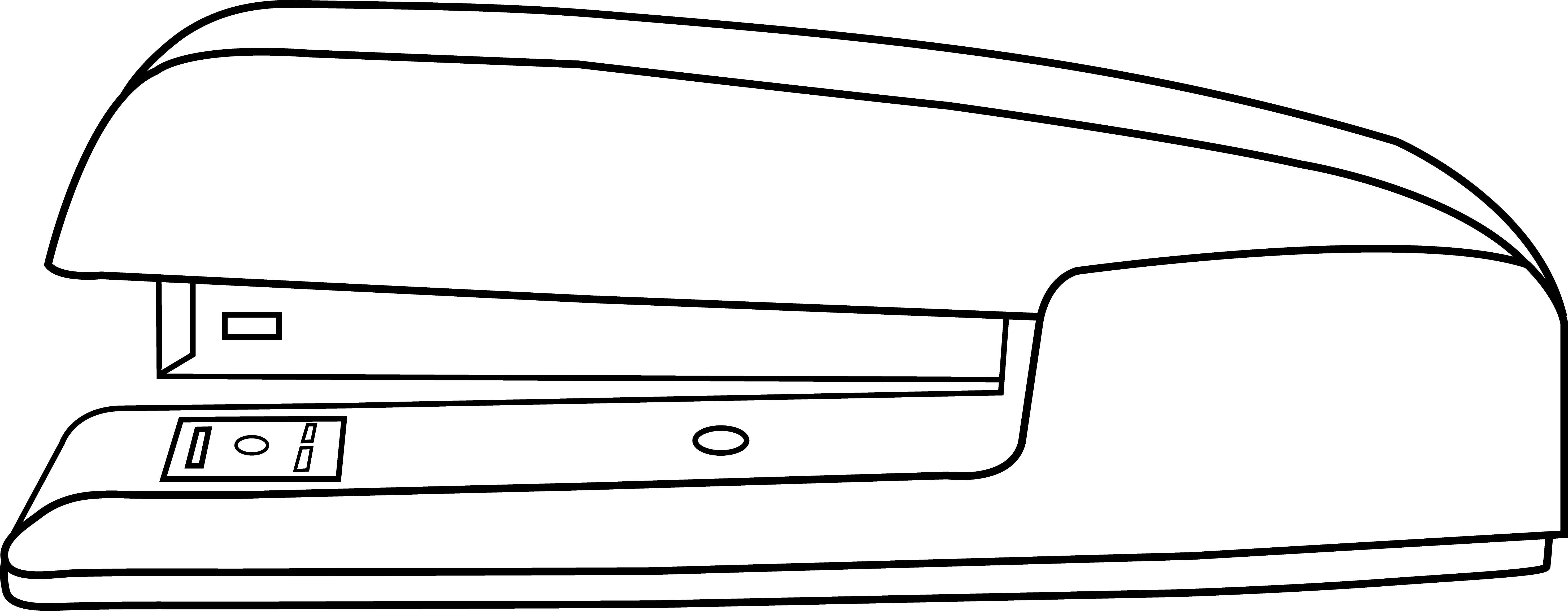 picture black and white download Office Stapler Line Art