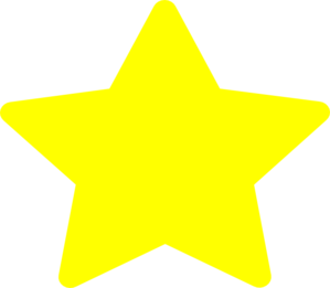 image free download Large Yellow Star Clip Art at Clker