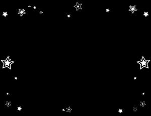 jpg black and white library Border Star