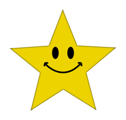 clip art transparent stock Smiley Face Star Clipart