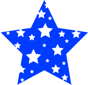 picture stock blue star clipart blue and white starry star free clip art clipart