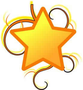 royalty free stock Star Swirl Clip Art at Clker