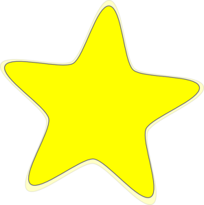 vector library library Yellow Star