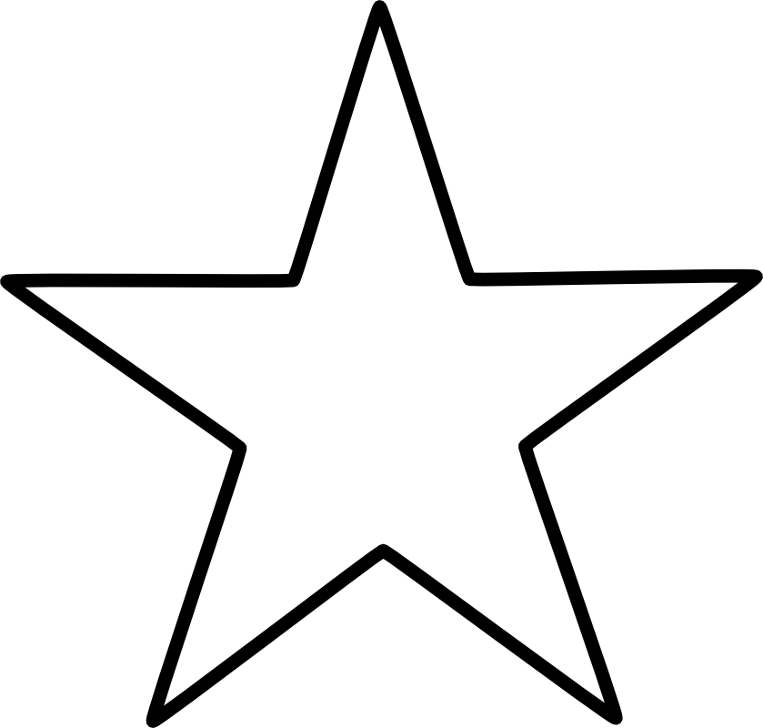 graphic library stock Large Star Pattern