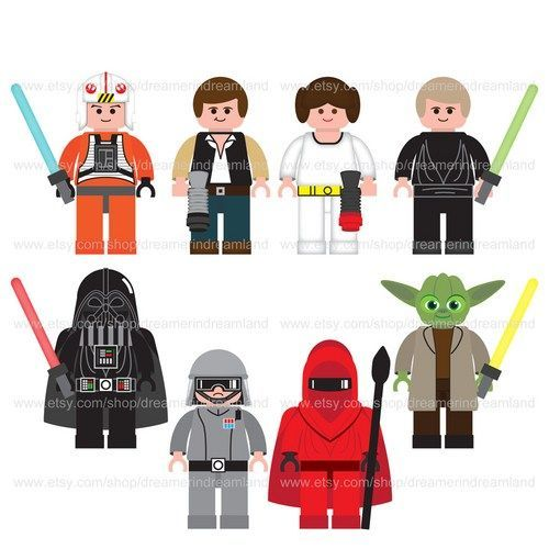 jpg black and white Star wars legos clipart. Pin by emily mello.