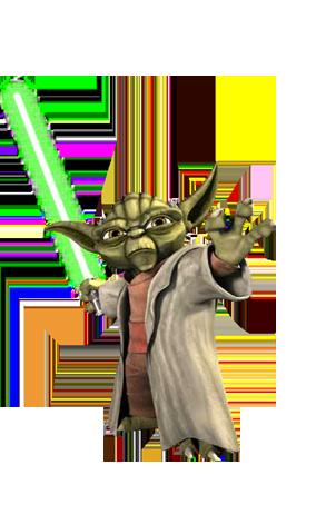 vector library Yoda PNG