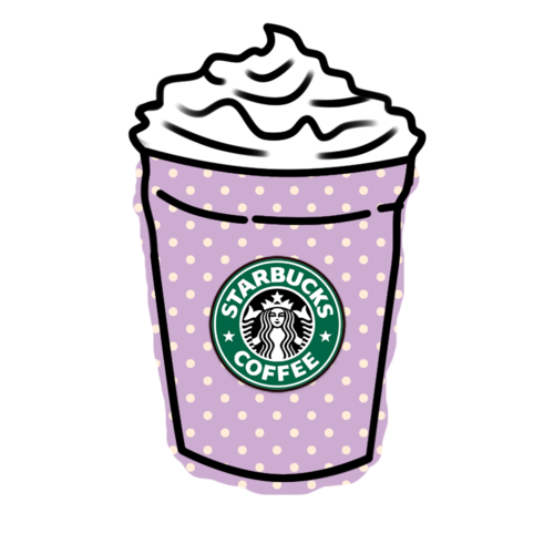 png black and white library Clipart starbucks coffee. Tumblr hipster overlays and.