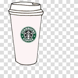 graphic freeuse library Starbucks coffee cup clipart. Overlays tipo transparent background