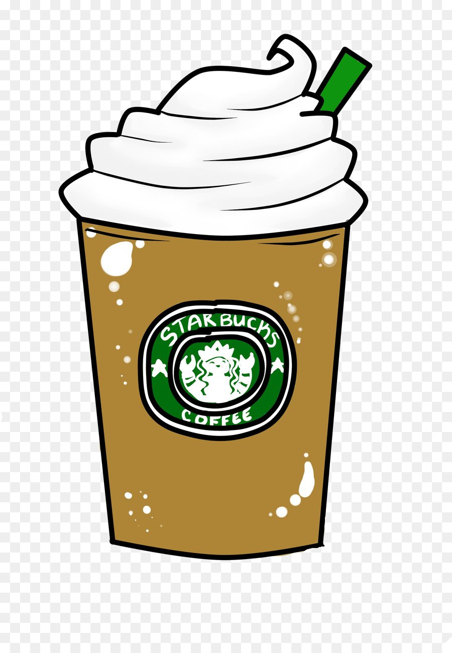 clip art transparent Background drawing . Starbucks coffee cup clipart