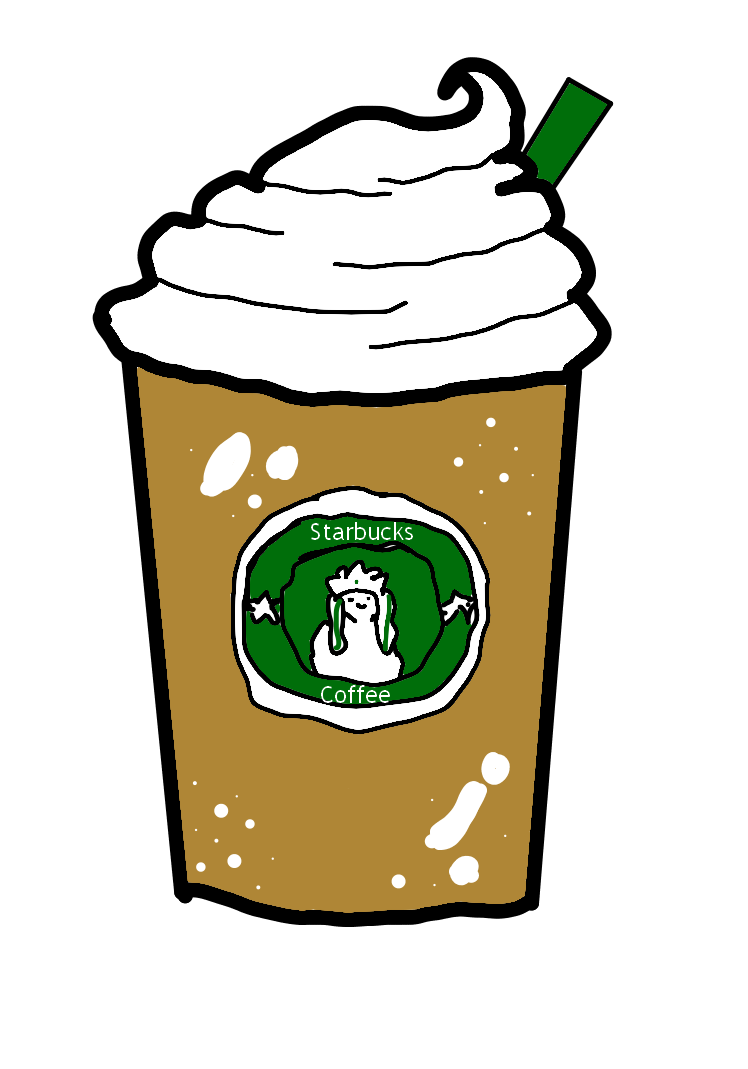 clip free stock Clipart starbucks coffee. Drawing clip art transprent.