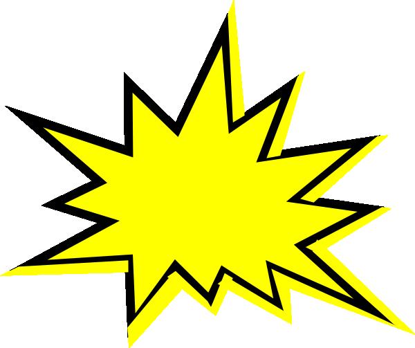 banner royalty free stock Starburst Clip Art Outline