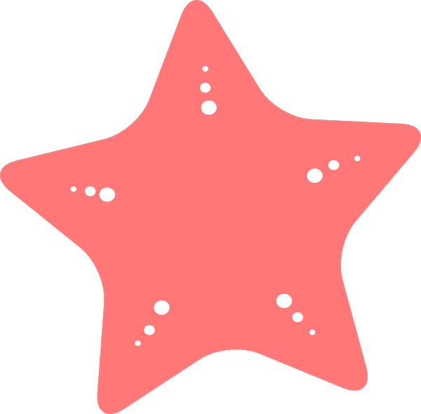 svg black and white download Clip art at clker. Starfish clipart.