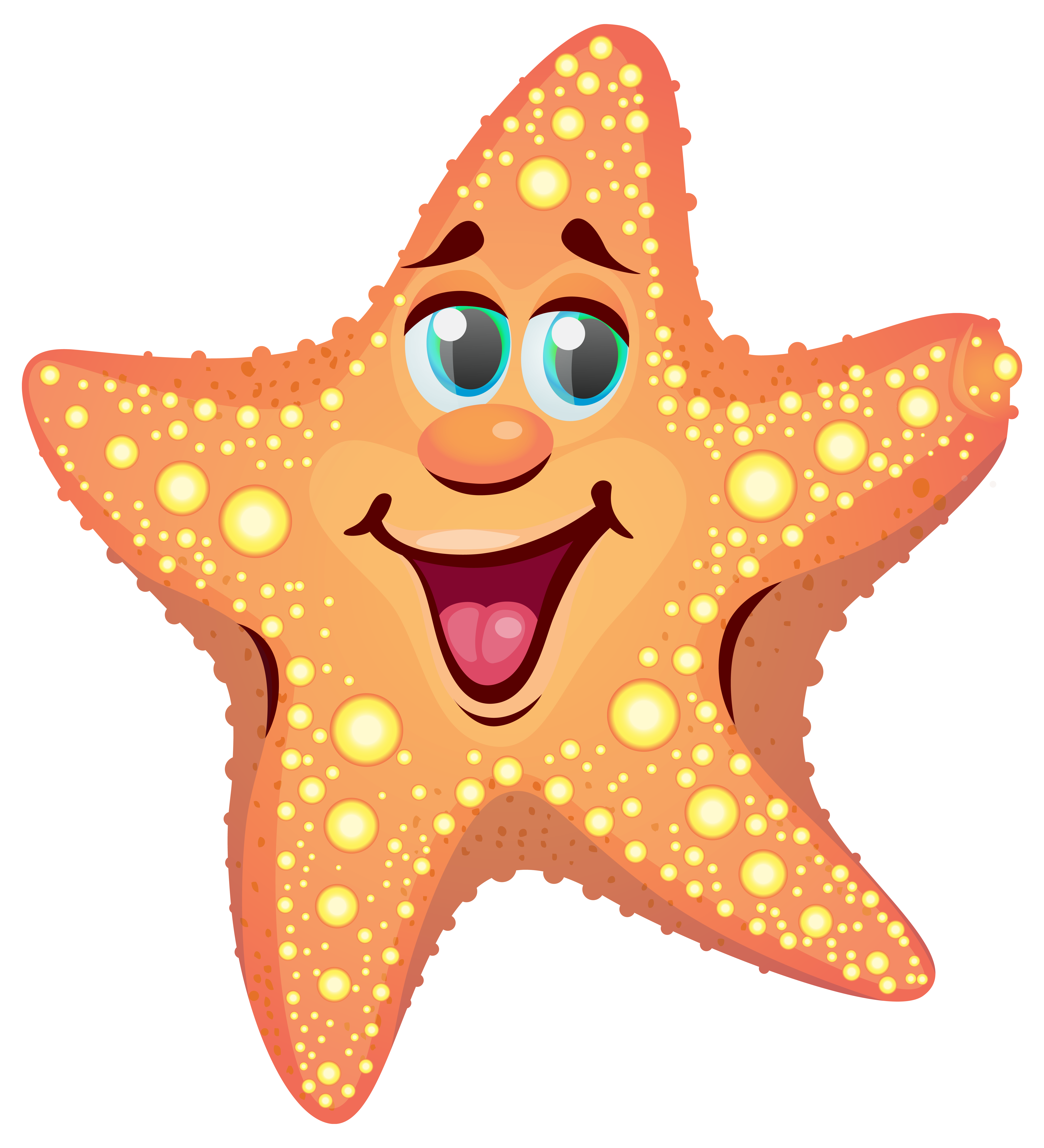 clipart freeuse library Starfish clipart. Cartoon png image gallery.