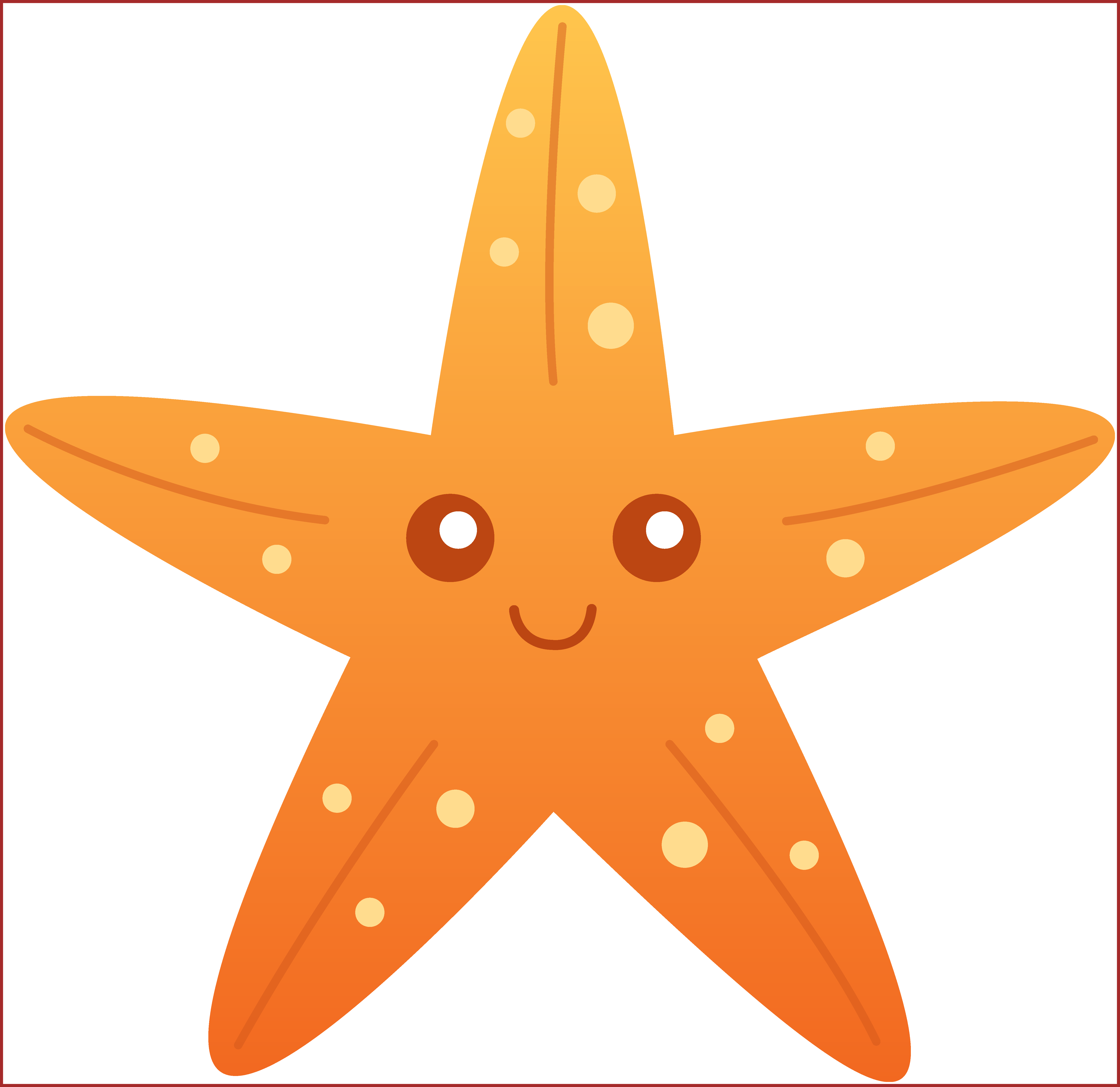 graphic royalty free download Star svg free library orange