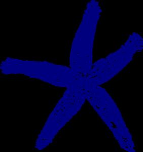 svg library stock Navy Blue Starfish Clip Art at Clker