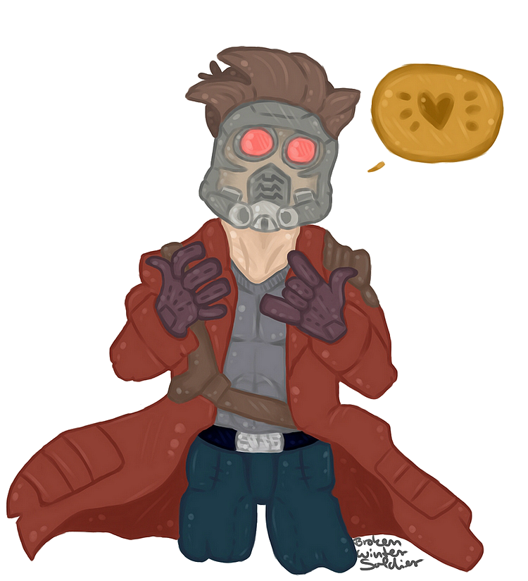 clip art royalty free Star Lord by ll