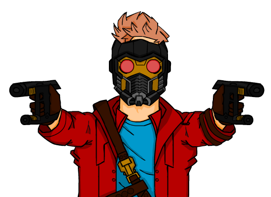svg free download starlord drawing #87823061