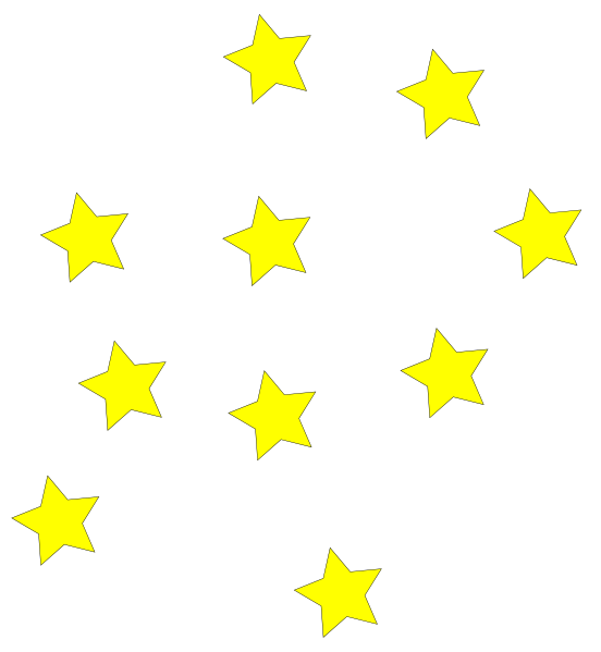 clip black and white library Stars clipart border. Image of star clusters.