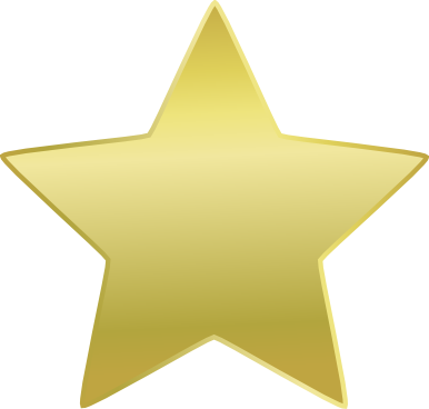 picture black and white library Free Gold Star Clipart Pictures