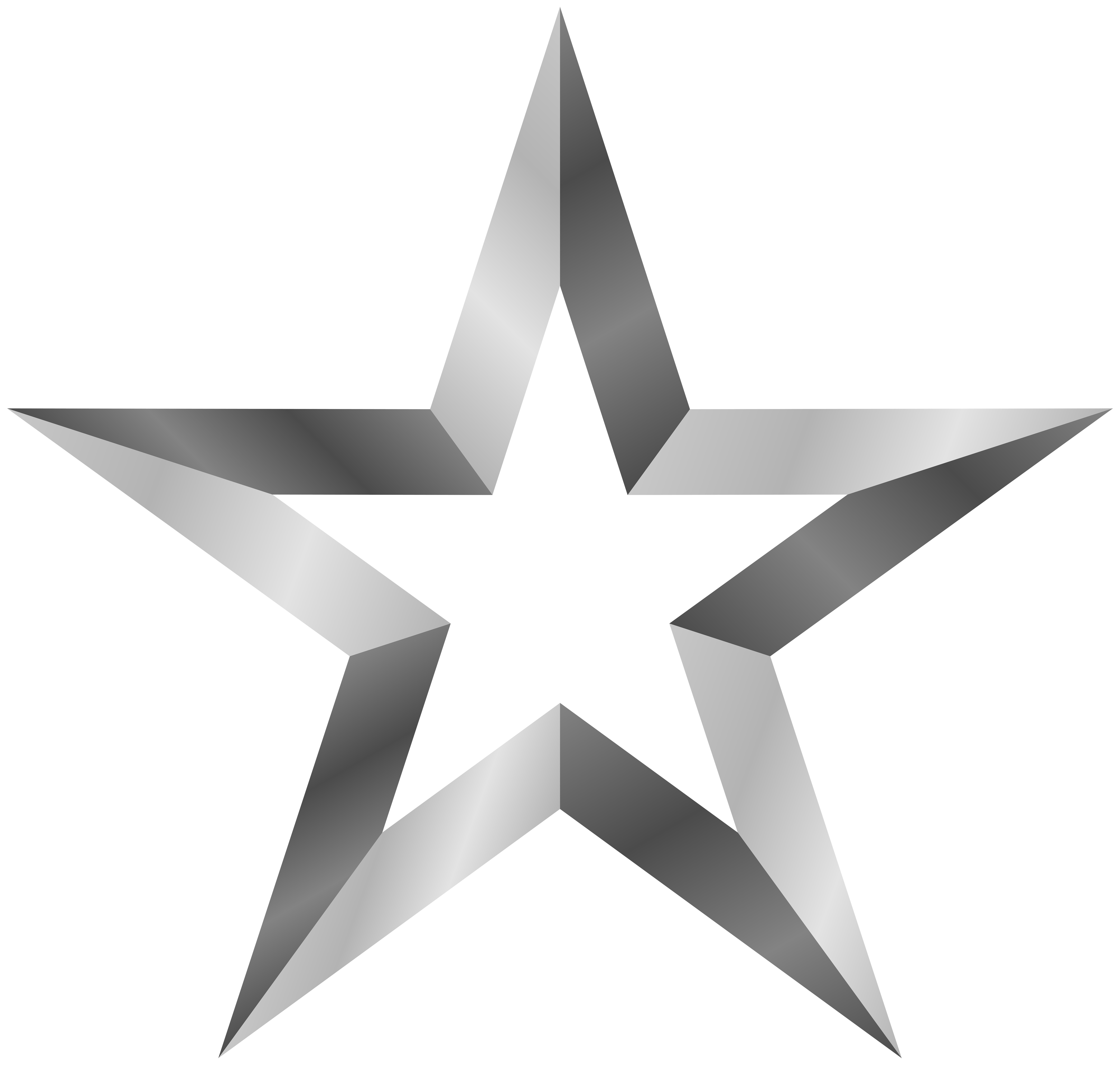 image free stock Silver star png art. Stars clip transparent background