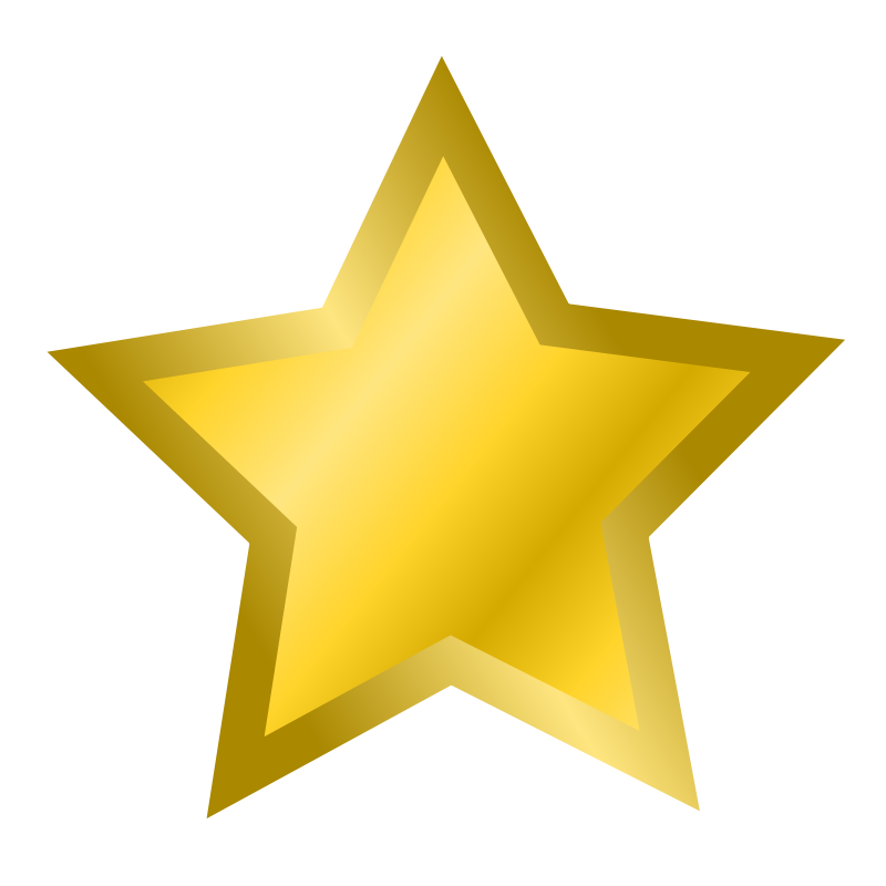 svg free stock Gold star clipart no background free images