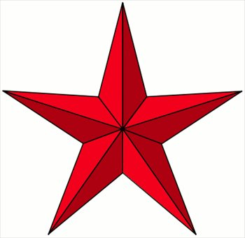 clip art free library Start clipart pointy. Free red star graphics