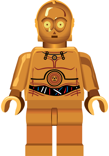 banner transparent download C po lego kids. C3p0 drawing
