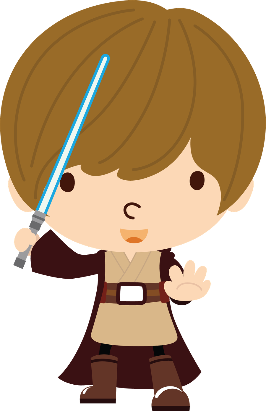 image transparent library Star minus already felt. Wars clipart 1 character