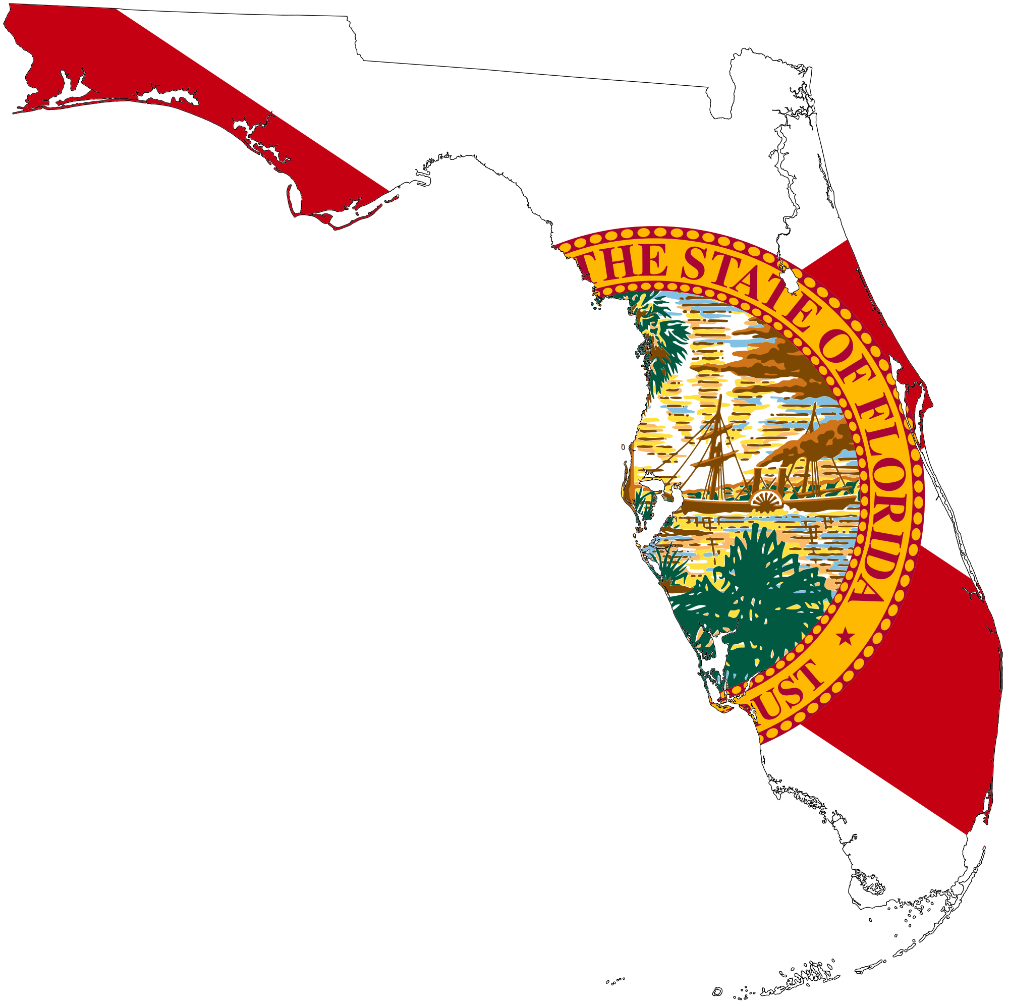 clipart freeuse Florida Map Images Download