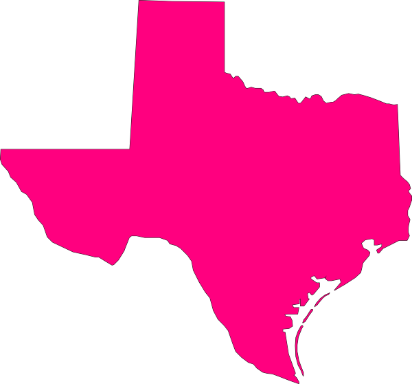 png transparent library Pink clip art at. State of texas clipart
