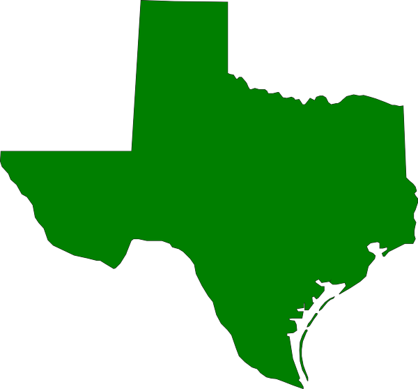 graphic black and white library Green clip art at. State of texas clipart