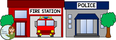 clip art library Buildings clipart fire. Station free download clip