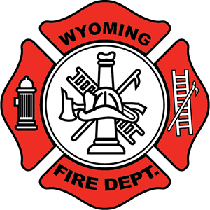 png Vector crest fire department. Wyoming logo eps free