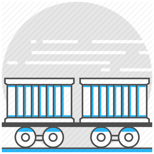clip transparent Station clipart railcar. Logistics and transport by
