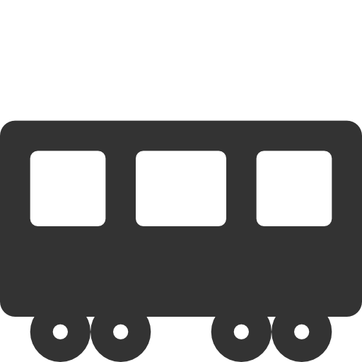vector royalty free stock Rail car ferrocarril icon. Station clipart railcar
