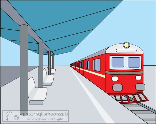 png black and white download  railway free clip. Station clipart train schedule