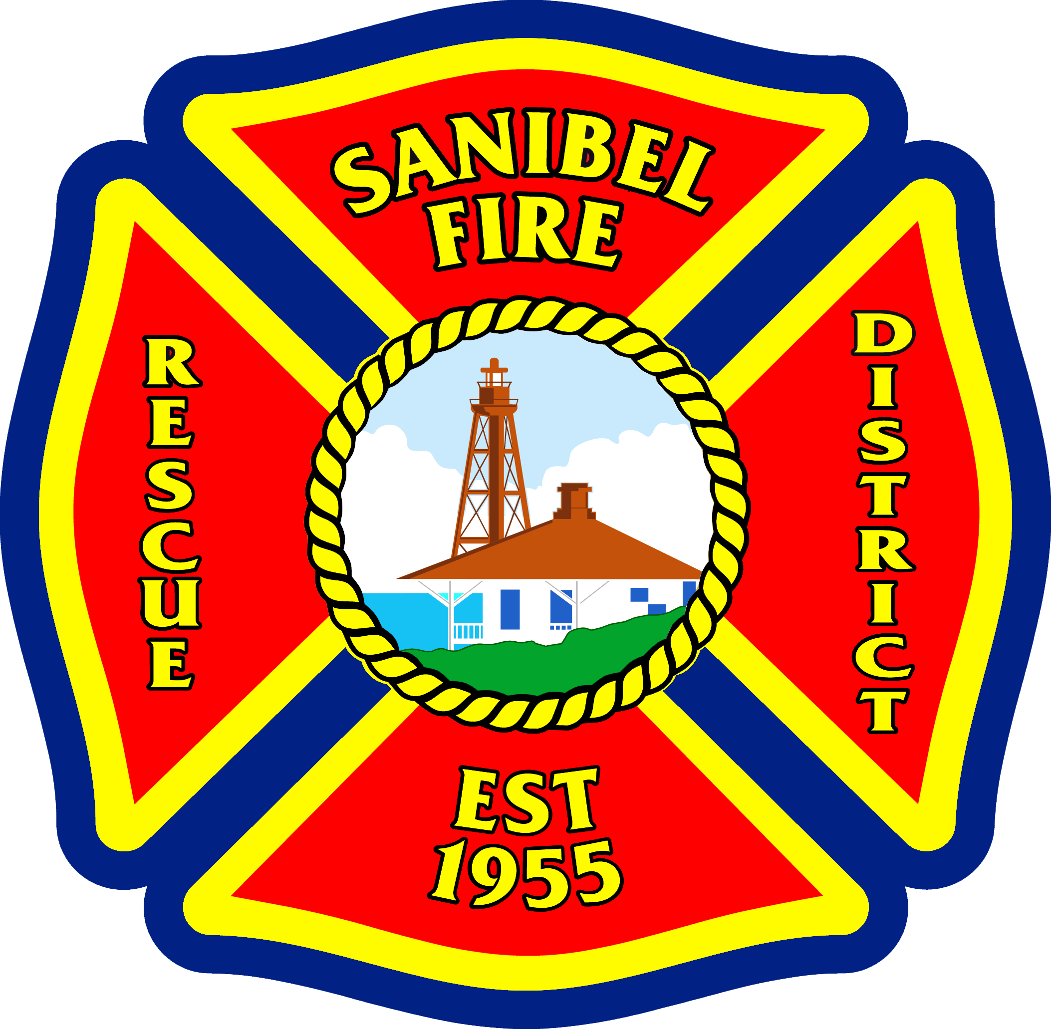 vector library download Sanibel and rescue district. 911 clipart fire emergency