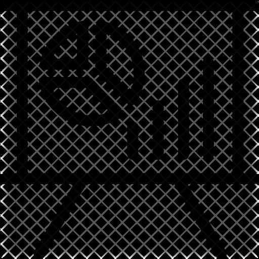 banner library stock Presentation Icon