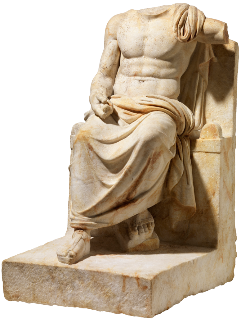 png royalty free Statue transparent. Zeus doctoreno by on