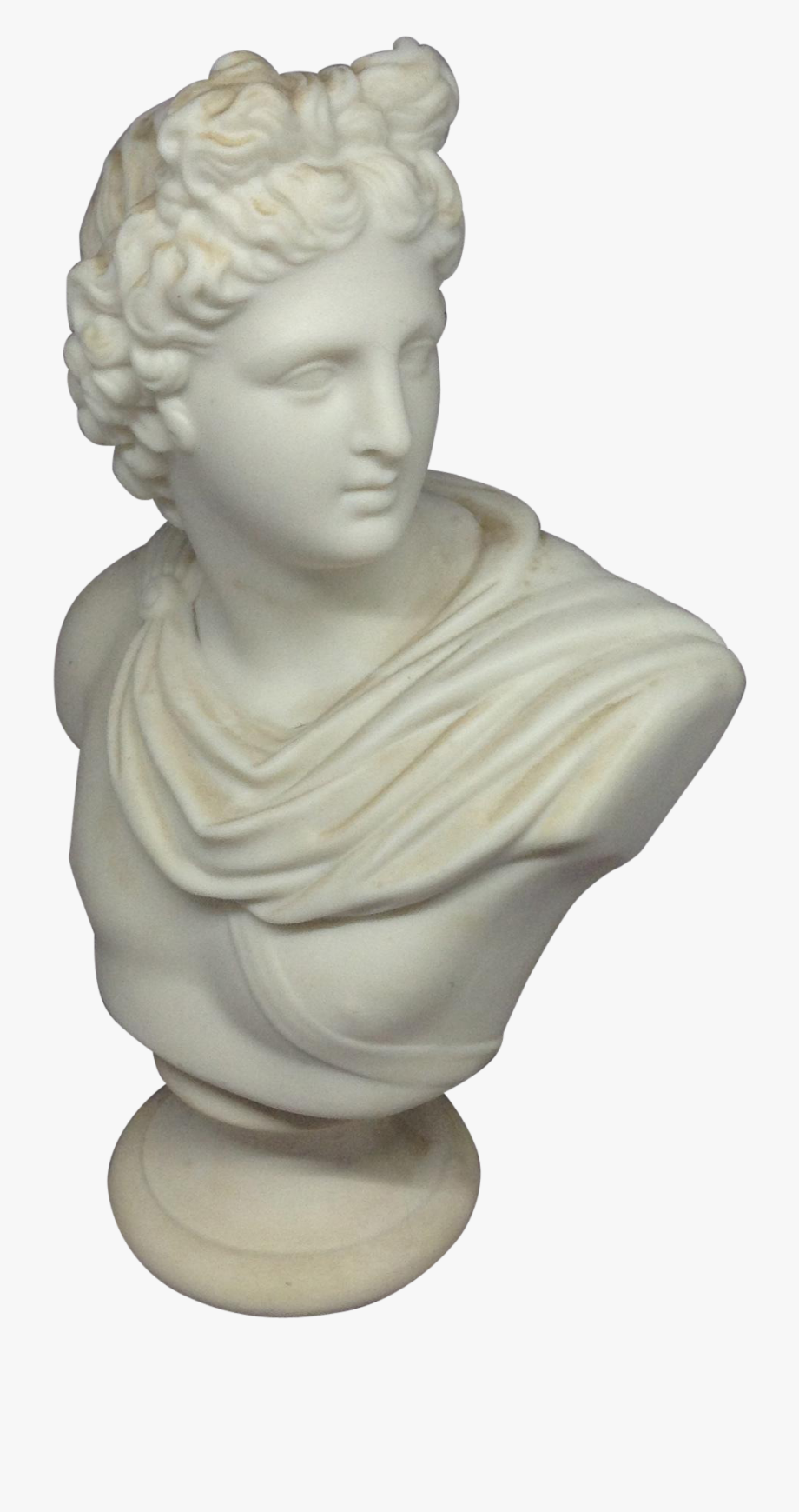 vector library library Statue transparent. Vaporwave clipart bust david