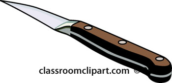 banner black and white library Image . Steak knife clipart.
