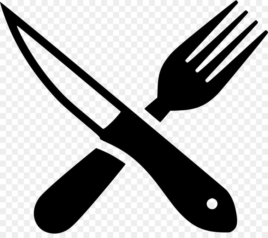 vector royalty free Kitchen cartoon fork transparent. Steak knife clipart.