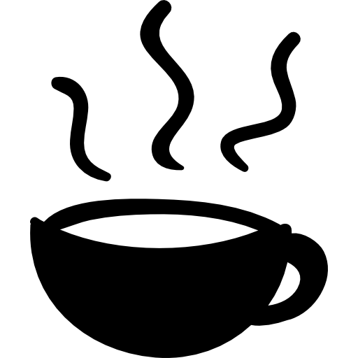 clip transparent library Steaming coffee mug clipart. Cup with steam free