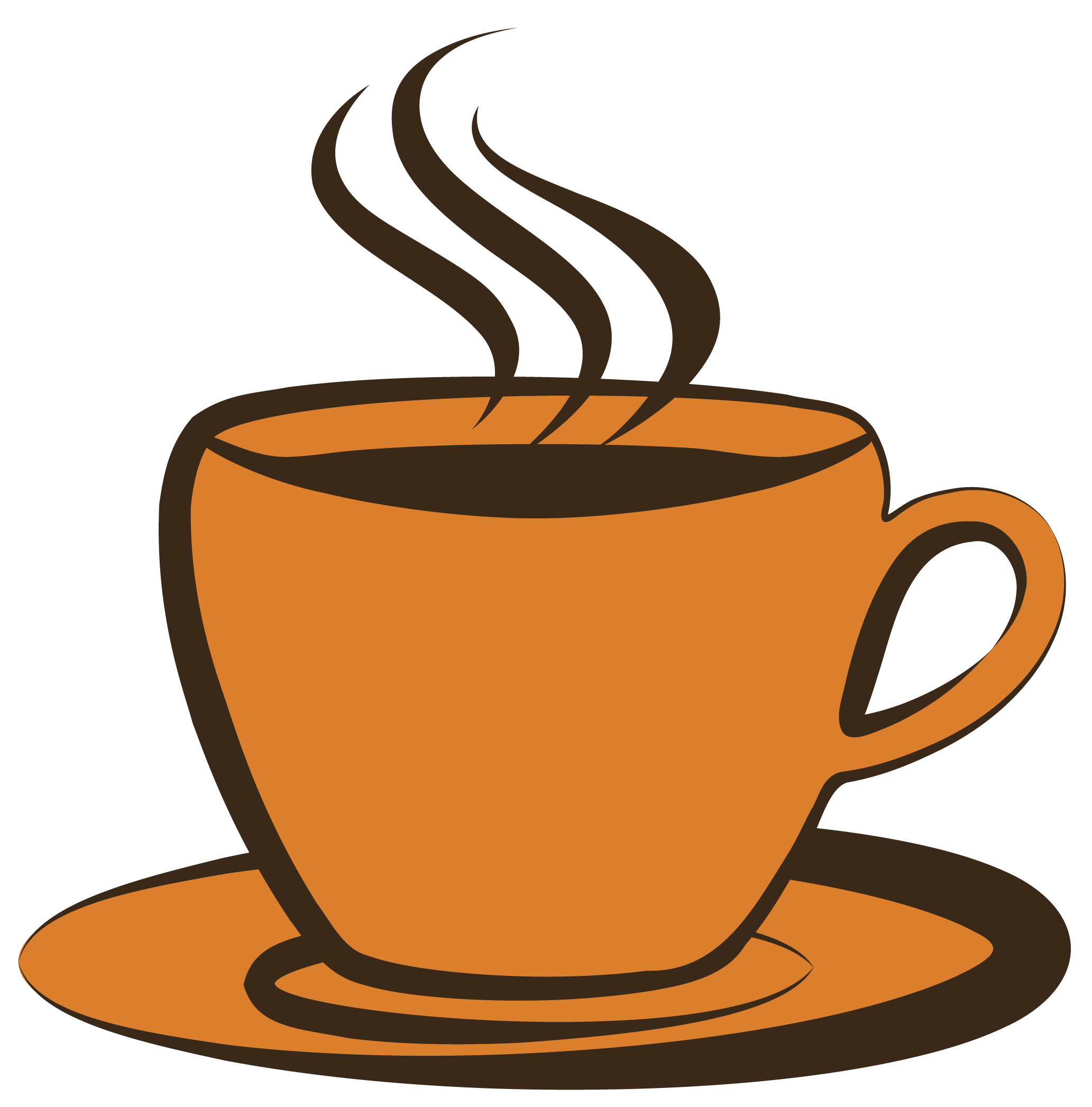 banner Cup images mugs clip. Steaming coffee mug clipart